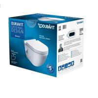 Duravit Starck 3 Wand WC Set Tiefspüler Klo mit Sitz softclose 42000900A1 weiß
