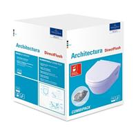Villeroy & Boch Architectura Kombipack Wandtiefspül WC mit Sitz softclose 5684HR01 weiß