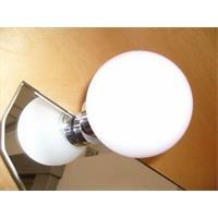 Top Light Bulb Fix Spiegelklemmleuchte chrom