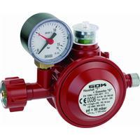 Gasregler Haushaltsregler 50 mbar Niederdruckregler mit TAE Absicherung Gewerbe