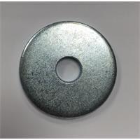 Unterlegscheibe, DIN 1052, 105x27x8 mm, verzinkt, 1 St