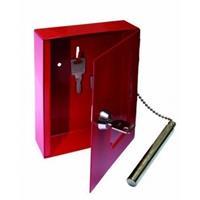Notschlüsselkasten / Schlüsselkasten NS 2 mit Klöppel Hammer mit Glasscheibe