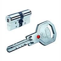 Profilzylinder BKS Janus 4612, inkl. je 3 Schlüssel -verschieden schließend