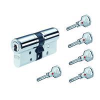 Sicherheits-Profilzylinder BKS Janus 4612 inkl. 5 Schlüssel  mit GF und Sicherungskarte