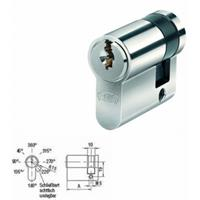 BKS Halbzylinder Helius 4201 inkl. je 3 Schlüssel - verschieden schließend