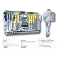 Schliessanlage BKS Detect 3, jede Anlagenart & alle Längen - inkl.je 3 Schlüssel