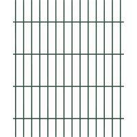 Doppelstab Mattenzaun - 10 Meter Set verschiedene Farben und Höhen