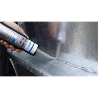 Beko Metallic Flex Elastischer Klebstoff Dichtstoff Spezialkleber Metall Alu Edelstahl