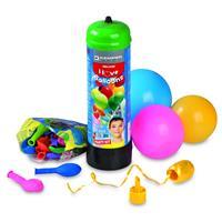 Helium Set mit 30 Luftballons und Schnur Ballon Ballongas