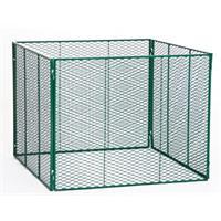 Brista Metall Komposter RAL 6005 1000x1000x800mm