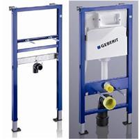 Geberit Duofix Basic Waschtisch und WC Spülkasten Vorwandelement Set WC + WT