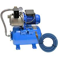 Ebara Hauswasserwerk Gartenpumpe Pumpe mit Saugschlauch Set TÜV GS geprüft