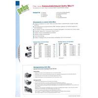 Gebo Unifix Mini Dichtschelle Edelstahl Rohr Reparatur Dichtband