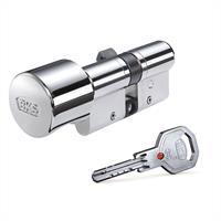 Sicherheits - Knaufzylinder  BKS Janus 4606 verschieden schließend, inkl. je 3 Schlüssel
