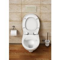 Vitra Base pro Wandtiefspül WC spülrandlos Sitz softclose weiß Hygiene Glasur