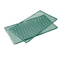 Brista Deckel oder Boden Streckmetall Komposter RAL6005