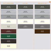 Briefkastenanlage Max Knobloch Aufputz 1 - 20  Parteien verschiedene Farben