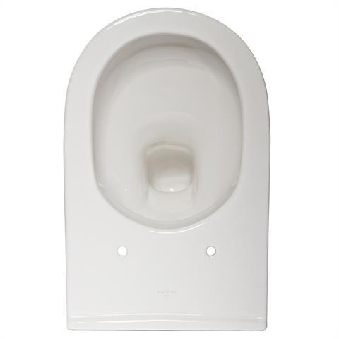 Villeroy & Boch O.Novo Combi-Pack Set Spülrandlos mit WC Sitz Softclose V&B
