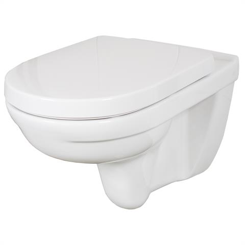 Villeroy & Boch O.Novo Wandtiefspül-WC wasserrandlos inkl. Sitz softclosing