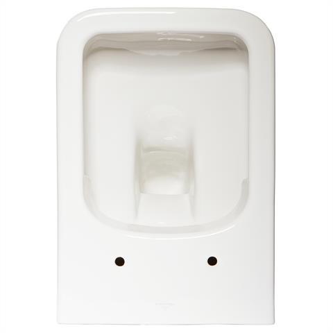 V&B Architectura Wand WC Tiefspüler 5685HRR1 inkl. Sitz softclosing weiß + CP CeramicPlus spülrandlo