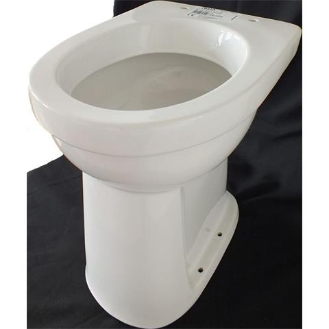 Keramag Allia Paris Care Standflachspül-WC erhöht um 10cm weiß