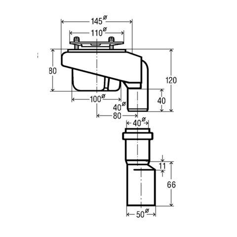 viega tempoplex ablaufgarnitur duschablauf ablauf senkrecht 6962 1. Black Bedroom Furniture Sets. Home Design Ideas