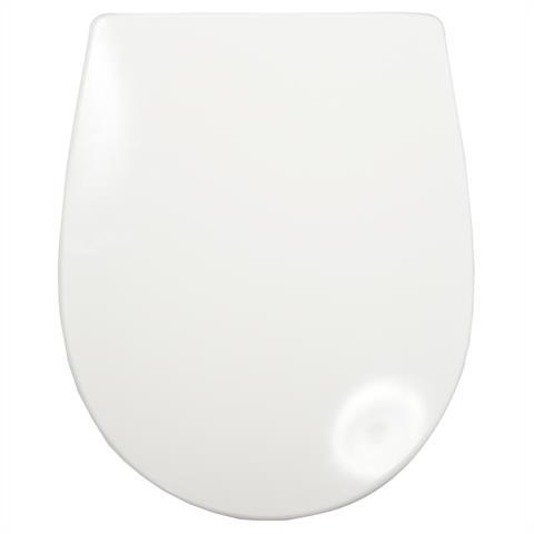 Haro Passat WC-Sitz mit Deckel softclosing weiß/chrom
