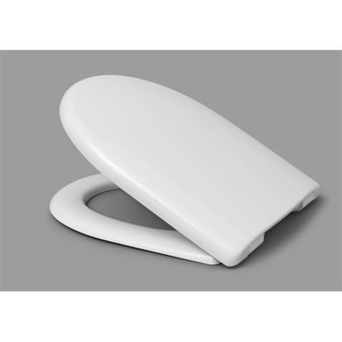 Haro Move WC-Sitz mit Deckel softclosing weiß/chrom