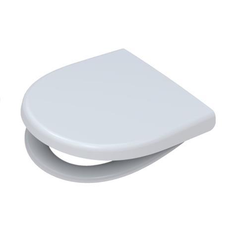 Pagette Kadett WC-Sitz mit Deckel weiß/edelstahl Nr. 7.9188-0202