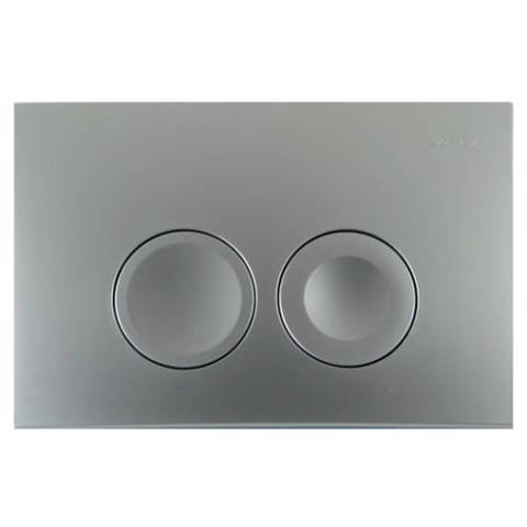 Geberit Delta21 WC-Betätigungsplatte seidenglanzchrom Nr. 115.125.46.1