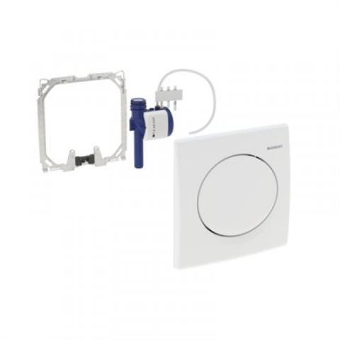 Geberit HyBasic Urinal Handauslöser pneumatisch weiß Nr. 115.820.11.5