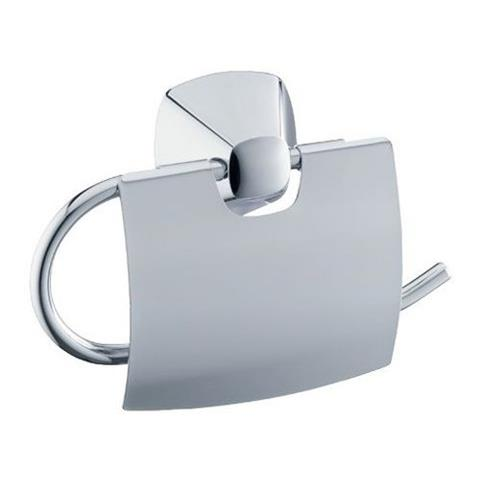 Keuco City 2 WC-Papierhalter mit Deckel chrom Nr. 02760010000