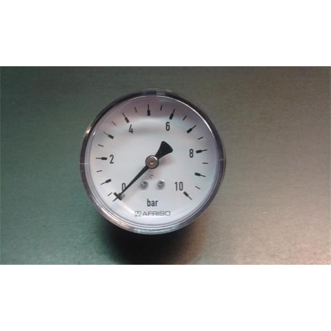 "Rohrfeder-Manometer 1/4"" - Ø63 mm waagerecht Nr. 63539"