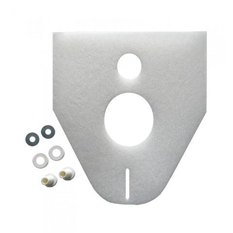Haas Schallschutzset 65/4 mm für WC und Bidet Nr. 301-5530