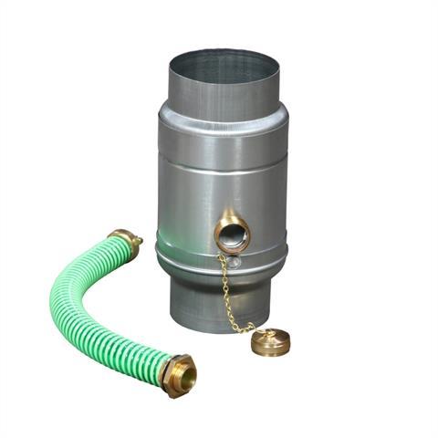 Wassersammler für Zink-Fallrohr 100 mm Nr. 27 Z 100