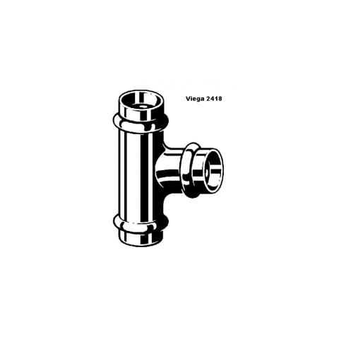 Viega Profipress T-Stück 15 mm Nr. 291952