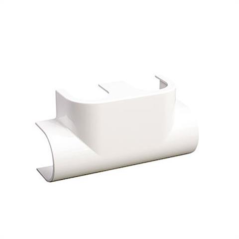 Basic Design-Abdeckung Eckform weiß