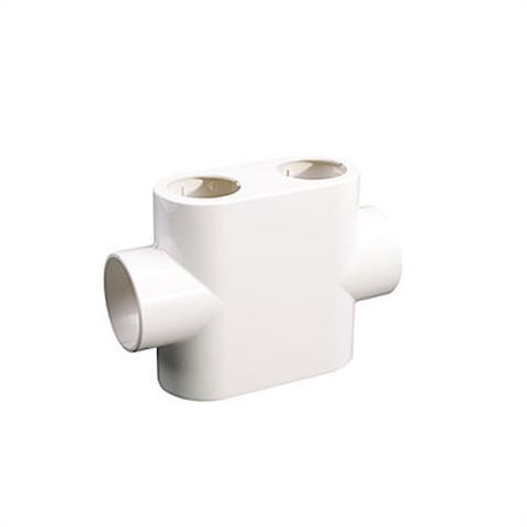 Basic Design-Abdeckung Durchgang weiß
