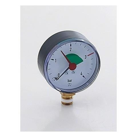 "Manometer 1/4"" - Ø 63 mm, 0-4 bar Nr. 63911"