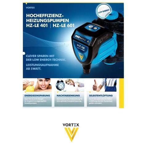 Vortex Hocheffizienz-Heizungspumpe Nr. HZ-LE 401