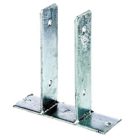 GAH U- Pfostenträger zum Aufdübeln, 121 mm