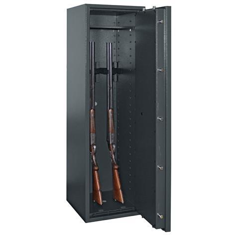 waffenschrank gun safe 1 1 5 mit doppelbart schloss oder elektr zahlenschloss. Black Bedroom Furniture Sets. Home Design Ideas