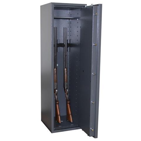 Waffenschrank Grad 0 nach EN 1143-1 Gun Safe 0-6 mit Doppelbartschloss Stufe 0
