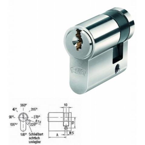 BKS Halbzylinder Helius 4201 inkl. je 3 Schlüssel - gleichschließend