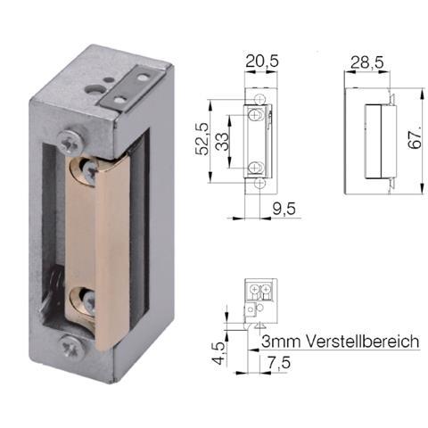DENI elektronischer Türöffner 6-12 V