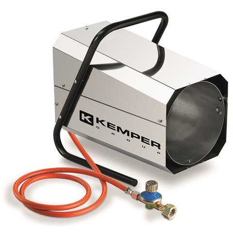 Kemper Gasheizgebläse QT101R INOX / Edelstahl