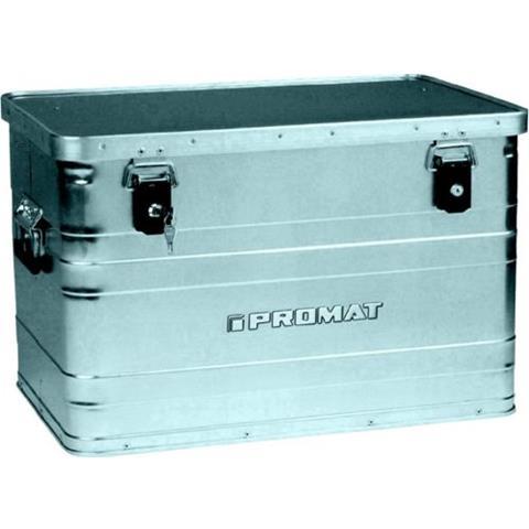 Promat Aluminiumbox 90 l mit Klappverschlüssen
