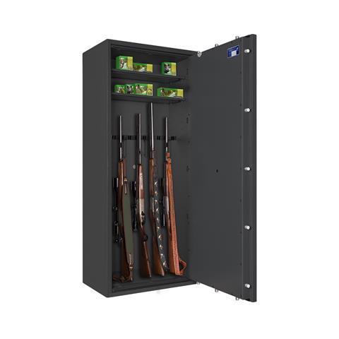 Waffenschrank Börde 1 1-10 mit elektronischem Zahlenschloss