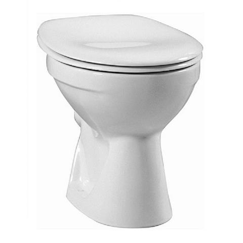 Keramag Delta Standtiefspül WC Tiefspüler mit Spülkasten und Sitz Absenkautomatik