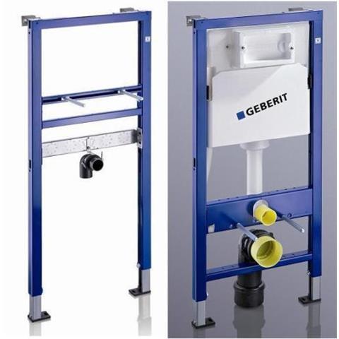 Geberit Duofix Basic Waschtisch und WC Spülkasten Vorwandelement Set inkl. Schallschutzset